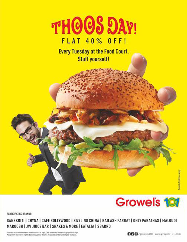 Growels Thoosday Offer